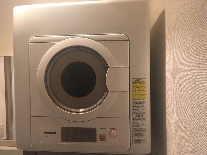 パナソニックの衣類乾燥機